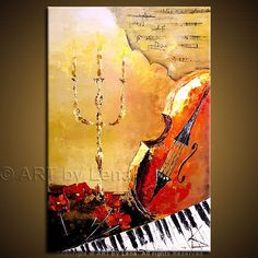 """Contemporary Art of musical instraments 