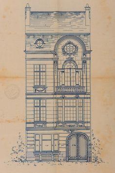 Ixelles - Rue du Bourgmestre 28 - DE LESTRÉ-DE FABRIBECKERS Benjamin