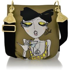 Love Moschino, I want this x Bag Illustration, Luxury Purses, Unique Purses, Summer Bags, Green Fabric, Handbag Accessories, Canvas Tote Bags, Fashion Bags, Military Green
