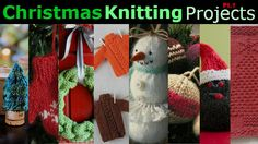 Christmas Knitting Project Roundup Part 1