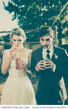 Waldo & Megan's Eclectic Wedding Celebration | Real weddings | The Pretty Blog