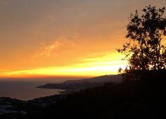 #Tramonto sul #mare - #emozioni da vivere #Cipressa - #Riviera dei Fiori - #Liguria