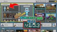 BARU!! MINECRAFT MOD V1.5.3 UNLCOK SKIN, TEXTURE, DAN STORE Minecraft Mods, Minecraft Skins, View Video, Mini Games, Dan, Texture, Store, Surface Finish, Business