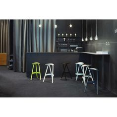 Benches & Stools — the residents Unique Bar Stools, Urban Bar, Bench Stool, Designer, Modern Design, Furniture Design, Armchairs, Sofas, Home Decor