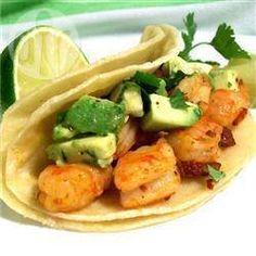 Foto de la receta: Tacos de camarón al chipotle