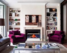 50 Ideas To Organize A Home Library In A Living Room Shelterness | Shelterness