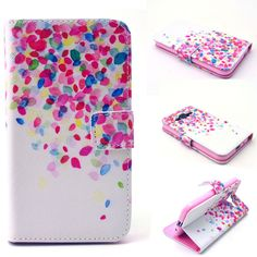 Fashion Book Style Wallet Case for Samsung Galaxy Core Prime G3608 G360 Leather Mobile Phone Cover with Card Slots Holder stand
