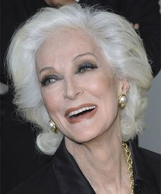 80 yrs--model Carmen Dell'Orefice