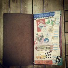 新しい表紙にデザイン | TRAVELER'S notebook みんなの投稿 - MIDORI