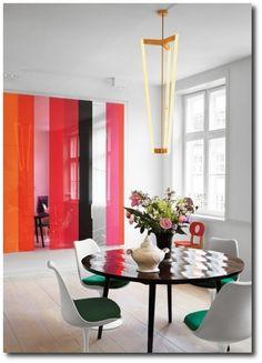 Color Blocked Interiors