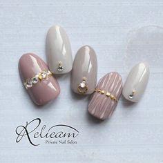 Nail Manicure, Gel Nails, Korean Nails, Hair Decorations, Types Of Nails, Nail Bar, Nail Trends, Nail Tips, Nail Colors