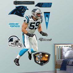 Luke Kuechly, Carolina Panthers. - I WANT THIS! ah!