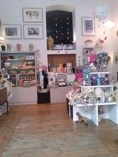 .Yonkel Ork shop interior in Berlin.