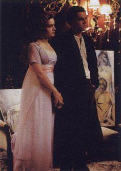 Titanic (1997) Leonardo DiCaprio as Jack Dawson and Kate Winslet as Rose DeWitt Bukater #costume design: Deborah Lynn Scott