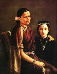 Ramanadha Rao - Collection of oil paintings of Raja Ravi Varma the great artist of Kerala, India Ravivarma Paintings, Indian Art Paintings, Acrylic Paintings, Watercolor Painting, Famous Artists, Great Artists, Raja Ravi Varma, La Girl, Academic Art