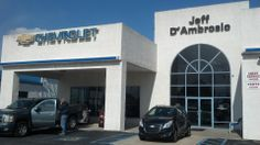 "Jeff D'Ambrosio Chevrolet Why should I buy a car from Jeff D'Ambrosio Chevrolet? It is a question we are asked almost everyday. It is one we love to answer.  It is a question we are asked almost everyday. It is one we love to answer.  Jeff D'Ambrosio Auto Group is a family-owned & operated, full service dealership. We have been serving the Chester County Community for over 25 years and counting.  We were voted ""Best of Chester County"" again for 2010 and have a credit solution for everyone…"