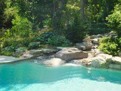 Creek into a Pool