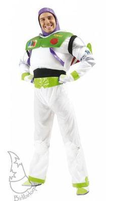 Disfraz de Buzz Lightyear, otro de los personajes de la famosa película Toy Story, una de las mejores de la factoría Disney.