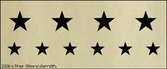 Star Border - A stars patriotic lone Cowboy Images, Stencils, Stars, Projects, Fabric, Diy, Quotes, Decor, Lonely