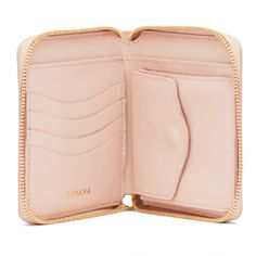 Small Leather Zip Around Wallet - Cuyana                                                                                                                                                                                 More