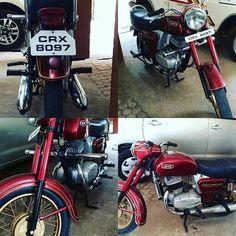 Yezdi 250cc  Photo courtesy of @ashithpereira  More photos on - http://ift.tt/1MOOLiU (Link in Profile) | #jawa | #jawamotorcycles.com | #idealjawa| #2stroke | #chrome | #Cz | #biker | #motorcycles | #imtheindianbiker | #yezdi | #yjoci | #retro | #czech | #vintage | #vintagestyle |#india | #motorbike | #caferacer | #bikeporn | #instamotogallery | #dirt | #bike | #picoftheday | #gopro | #motocross | #motorcycleyard |