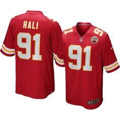 Nike Kansas City Chiefs Tamba Hali Team Color Game Jersey