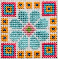 Free Cross Stitch Charts, Cross Stitch For Kids, Cross Stitch Tree, Cross Stitch Cards, Cross Stitch Flowers, Cross Stitching, Cross Stitch Embroidery, Cross Stitch Geometric, Modern Cross Stitch