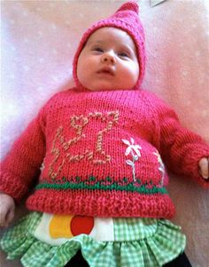 Handmade Doggie Sweater 03 Months by lishyloo on Etsy, $10.00