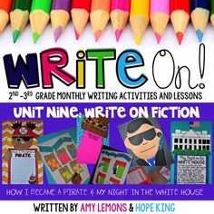 Are you looking to spice up your writing block with fun, engaging, and meaningful activities?  This is UNIT NINE of what will be an 11 unit series.  This unit will guide  your students in writing two fictional stories, and includes everything you need to drive your instruction.