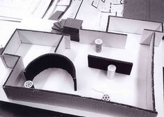 EXEMPLAR MODELLING [NOV '10] - Group model of Tugendhat House. Focus on division of spaces; open boundaries.