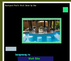 Backyard Pools With Swim Up Bar 132020 - The Best Image Search