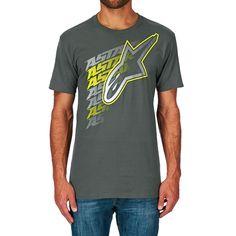 Men's Alpinestars T-shirts - Alpinestars Lifted T-shirt - Charcoal