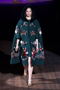 Dolce & Gabbana Fall 2014: see all of the best runway looks here.
