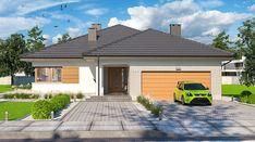 Fabian 2 - zdjęcie 2 Exterior Paint, Bingo, Brick, Garage Doors, Case, Outdoor Decor, Home Decor, New Ideas, Decoration Home
