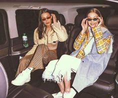 Bella and Gigi Hadid 2018