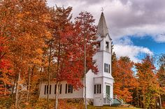 The Country Church Photograph  - The Country Church Fine Art Print