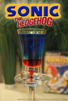Sonic shot #alcohol