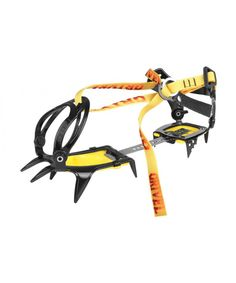 Grivel Basic 10 point crampon for general mountaineering, ski touring and glacial walking. Comes with a flexible bar, in the New Classic binding.
