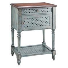 Such a fun and cute little accent table!
