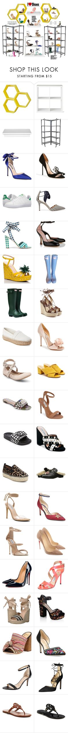 """""""What's in your Closet ? For Ultimate Shoe Lovers Group"""" by deborah-518 ❤ liked on Polyvore featuring Threshold, SJP, Christian Louboutin, Kurt Geiger, adidas, J.Crew, Vivienne Westwood, Kate Spade, Hunter and Michael Kors"""