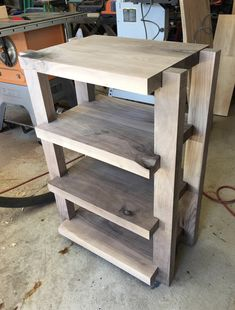 Just finished mocking up this black walnut audio rack on this beautiful Saturday. - Just finished mocking up this black walnut audio rack on this beautiful Saturday afternoon. Audio Rack, Hifi Rack, Hifi Stand, Audio Stand, Cabinet Furniture, Diy Furniture, Stereo Cabinet, Acoustic Panels, Wood Slab