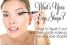 What's Your Eye Shape? How to figure it out! I am wide set, deep set, upturned, and un hooded. Beauty Tips For Hair, Best Beauty Tips, Beauty Make Up, Beauty Secrets, Beauty Hacks, Hair Beauty, Beauty Ideas, Eye Makeup Tips, Skin Makeup