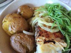 Bacalhau no Restaurante Moinho