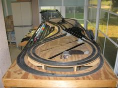 4x8 ho train layout 3 trains - Google Search
