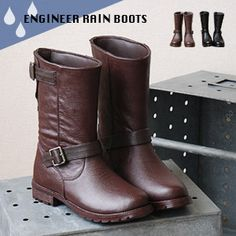 engineer rain boots  I want!