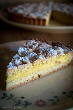 Una torta della nonna per festeggiare | Capricci Golosi
