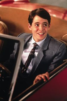 Ferris Bueller. Yes Matthew Broderick, you were once young and ...