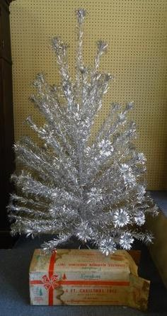 Vintage Aluminum Christmas Tree Evergleam 6 by TimberRidgeAntiques