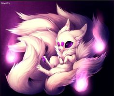 1000+ images about Ninetails on Pinterest | Nine D'urso, Foxes and ...