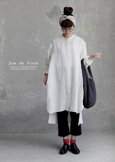 Ideas Style Vestimentaire Femme Robe For 2019 – Hijab Fashion 2020 Harajuku, Mode Simple, 90s Outfit, Love Shirt, Japan Fashion, Linen Dresses, Mode Outfits, Style Me, Style Hair